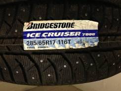 Bridgestone Ice Cruiser 7000. Зимние, без шипов, 2012 год, без износа, 4 шт