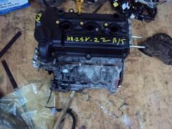 Двигатель в сборе. Suzuki Alto, HA25S, HA25V Двигатель K6A