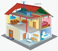 Вентиляция частных жилых домов