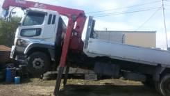 Mitsubishi Fuso Super Great FS. Продается грузовик с краном, 12 000 куб. см., 15 000 кг.