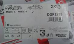 Диск тормозной. Mazda Axela Mazda Mazda3, BK