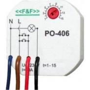 Реле времени программируемое с задержкой выключения управляющим контактом PO-406 Евроавтоматика ЕА02.001.019