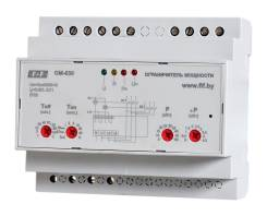 Ограничитель мощности OM-630, 5-50 кВт, микропроцессорное, многофункциональное, DIN (3х400/230+N, 2х8А, 2х1Р), ЕА03.001.007