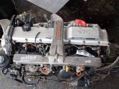 Контрактный б/у двигатель + КПП Toyota 1HD-T