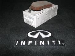 Колодка тормозная. Nissan: Navara, Infiniti M Hybrid, Infiniti FX45/35, Infiniti G35/37/25 Sedan, Qashqai+2, Infiniti G37 Convertible, Infiniti M35/45...