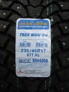 Maxtrek Trek M900. Зимние, шипованные, 2017 год, без износа, 4 шт