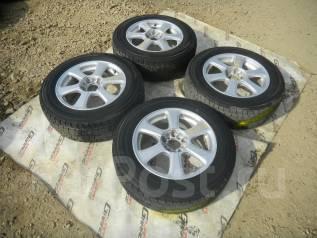Литье R16 + зимняя резина Dunlop 215/60 R16 5x114.3 5x100. 7.0x16 5x100.00, 5x114.30 ET45