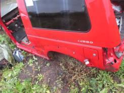 Стекло боковое. Mitsubishi Pajero, V26W Двигатель 4M40