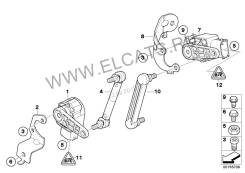 Корректор фар. BMW X6, E71 Двигатель M57TUE2