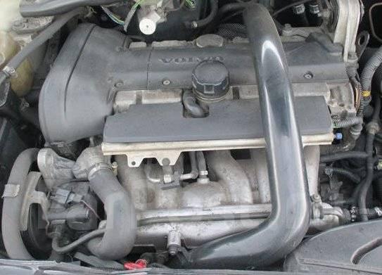 фото двигателя вольво 850 2.3