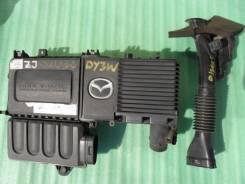 Корпус воздушного фильтра. Mazda Axela, BK3P, BK5P, BKEP Mazda Training Car, BK5P Mazda Demio, DY3R, DY5W, DY3W, DY5R Mazda Verisa, DC5W, DC5R Двигате...