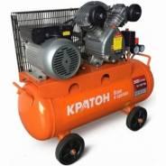 Компрессор ременной Кратон AC-300-100-BDV, 100 литров, 300 л/мин