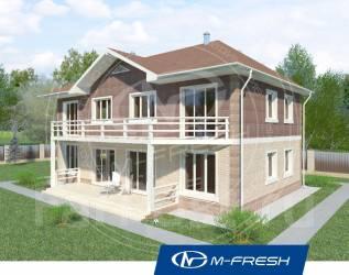 M-fresh Duplex Fine! (Готовый проект дома на две семьи! ). 200-300 кв. м., 2 этажа, 6 комнат, бетон