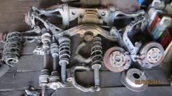 Nissan Skyline R34 - мост, стойки, пружины, рычаги, привода, ступицы. Nissan Skyline, ENR34, HR34, ER34, BNR34