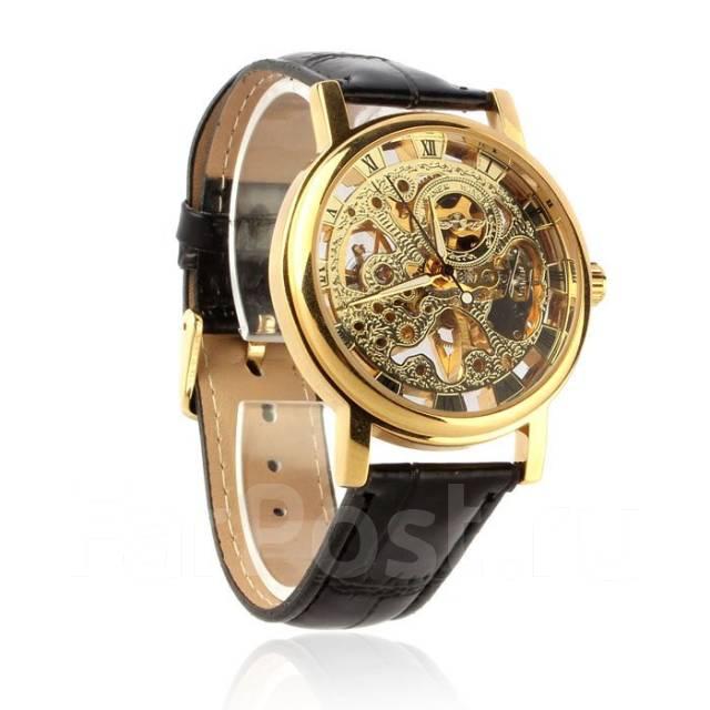 Часы скелетоны мужские купить в хабаровске купить золотой браслет к часам бу