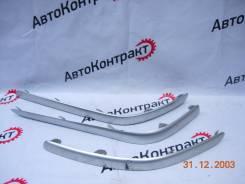 Накладка на бампер. Toyota Avensis, AZT250, AZT250L, AZT250W