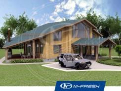 M-fresh Belux wood-зеркальный. 200-300 кв. м., 2 этажа, 5 комнат, дерево