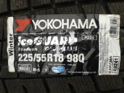 Yokohama Ice Guard IG50. Зимние, без шипов, 2015 год, без износа, 4 шт