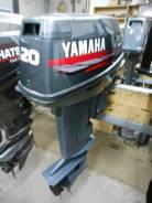 Yamaha. 20,00л.с., 2х тактный, бензин, нога S (381 мм), Год: 2005 год