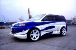 Обвес кузова аэродинамический. Honda HR-V, GH1