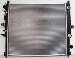 Радиатор охлаждения двигателя. Mercedes-Benz ML-Class