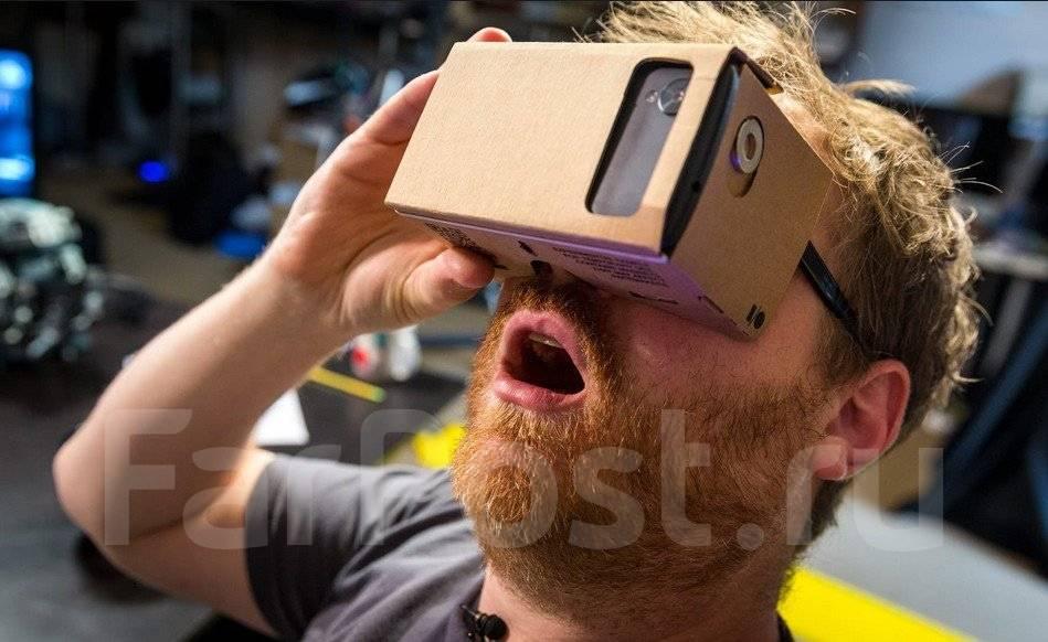 3D очки виртуальной реальности Google Cardboard. Очки будут чудесным подарком для любого человека, а его смартфон - бесконечной библиотекой незабываемых игр и приложений!