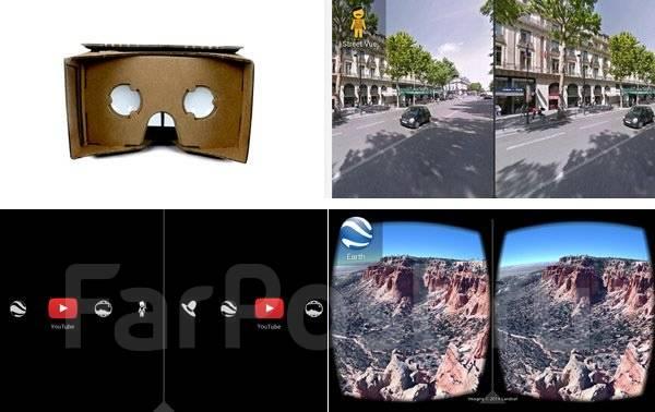 VR очки, 3D очки виртуальной реальности Google Cardboard. Купить, Цена, Бесплатная доставка!