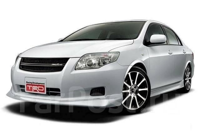 Обвес кузова аэродинамический. Toyota Corolla Axio, NZE141 Toyota Corolla Fielder, NZE141, NZE141G