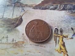 Старая добрая Англия! Нечастый 1 пенни 1936 г. Большая красивая монета
