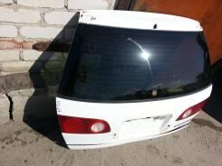 Дверь багажника. Toyota Caldina, AT211 Двигатель 7AFE