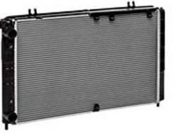 Радиатор охлаждения двигателя. Лада Приора