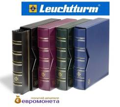 Leuchtturm альбом Optima classic футляр шубер, красный 318816
