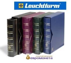 Leuchtturm альбом Optima classic футляр шубер, зелёный 330141