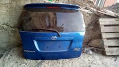 Дверь багажника. Toyota Corolla Spacio, NZE121, NZE121N Двигатель 1NZFE