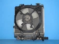Радиатор охлаждения двигателя. Mazda Demio, DW5W