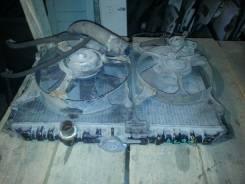 Радиатор охлаждения двигателя. Mitsubishi Galant, E32A Двигатель 4G37