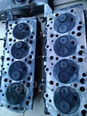 Головка блока цилиндров. Mitsubishi Delica Двигатель 4D56