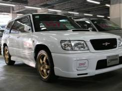 Накладка на порог. Subaru Forester, SF5, SF9. Под заказ