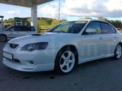 Обвес кузова аэродинамический. Subaru Legacy, BL. Под заказ