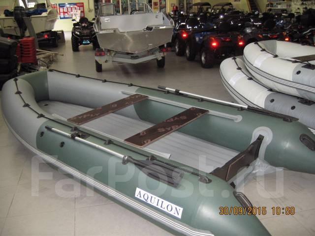 лодка пвх 430 с надувным дном