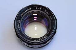 Объектив Konica Hexanon 57mm 1: 1.4. Для Konica, диаметр фильтра 55 мм