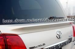 Спойлер на заднее стекло. Toyota Land Cruiser, URJ202, UZJ200W, URJ202W, VDJ200, UZJ200. Под заказ