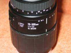 Шикарый телевик Sigma для Сони А. Для Sony, диаметр фильтра 58 мм