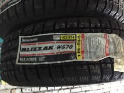 Bridgestone Blizzak WS-70. Зимние, без шипов, без износа, 4 шт