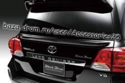 Спойлер на заднее стекло. Toyota Land Cruiser, URJ202, UZJ200W, URJ202W, VDJ200, UZJ200
