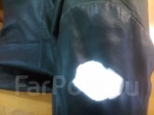 Ремонт порывов, порезов кожаных курток, пуховиков, юбок, и т. д.