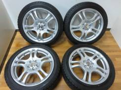 Продам зимнюю резину Bridgestone MZ-03 на новых литых дисках. 7.0x17 5x100.00 ET48 ЦО 64,0мм. Под заказ