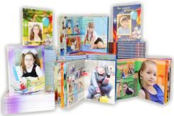 Фотокниги и фотоальбомы на выпускной в детском саду Иркутск