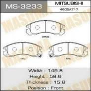 Колодка тормозная. Mitsubishi Delica Mitsubishi Pajero Mitsubishi RVR Mitsubishi Galant