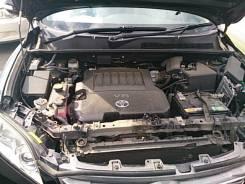 Радиатор охлаждения двигателя. Toyota Vanguard, GSA33W Двигатель 2GRFE